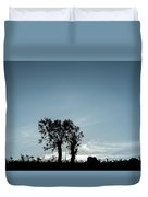 Tree Silhouette II Duvet Cover