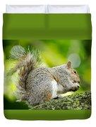 Tree Squirrel Duvet Cover
