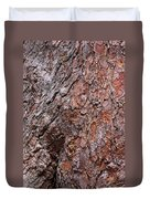 Tree Trunk Abstract Duvet Cover