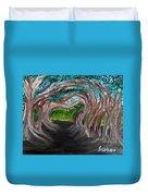 Tree Tunnel Duvet Cover