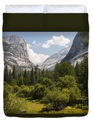 Trees - Forests - Mountains  Duvet Cover