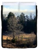 Trees By The Wayside Duvet Cover