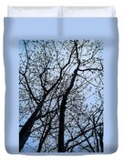Trees From Below Duvet Cover