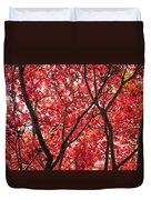 Trees Of Autumn Duvet Cover
