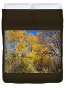 Trees Of Color Duvet Cover