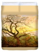 Trees Of Crows Duvet Cover