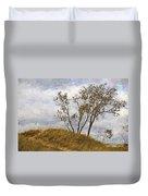Trees Of The Beach Duvet Cover