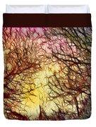 Trees Of The Four Seasons Duvet Cover
