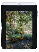 Trees Of The Rainforest Duvet Cover