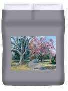 Trees Of Windermere Duvet Cover by Susan E Jones