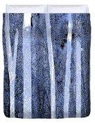 Trees Vertical Duvet Cover