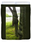 Trees With A Twist Duvet Cover