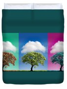 Treetypch Duvet Cover