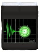 Tremor Black Duvet Cover