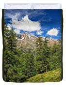 Trentino - Pejo Valley On Summer Duvet Cover