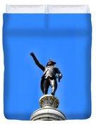 Trenton Battle Monument Duvet Cover