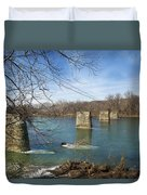 Trestle Of The Past Duvet Cover