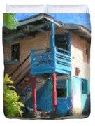 Trevas House Duvet Cover