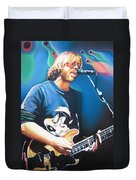 Trey Anastasio And Lights Duvet Cover