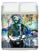 Trey Anastasio - Phish Original Painting Print Duvet Cover