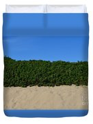 Tri-color At The Beach Duvet Cover