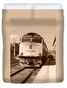 Tri Rail 808 Duvet Cover