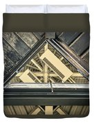 Triangle Ceiling Duvet Cover