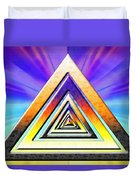 Triangle Pathway Duvet Cover