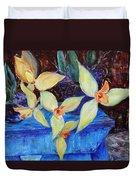 Triangular Blossom Duvet Cover