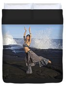 Tribal Belly Dancer Duvet Cover