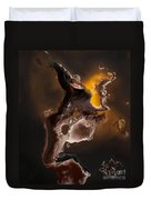 Tribal The Fire Within Duvet Cover