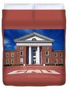 Trible Library Christopher Newport University Duvet Cover