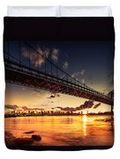 Triboro Sunset Duvet Cover