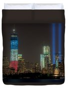 Tribute In Light Xiii Duvet Cover by Clarence Holmes