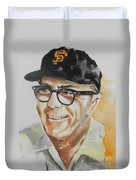 Tribute To Edward Logan My Grandfather  Duvet Cover