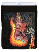 tribute to the Beat Farmers Duvet Cover