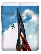 Tribute To The Day America Stood Still Duvet Cover by Rene Triay Photography