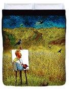 Tribute To Vincent Van Gogh - His Final Days Duvet Cover