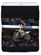 Trick Rider Duvet Cover