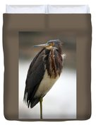 Tricolored Heron 3 Duvet Cover