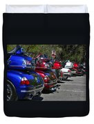 Trike - Parade Duvet Cover by Christine Till