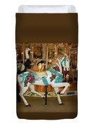 Trimper's Carousel 3 Duvet Cover