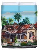 Trinidad House  No 1 Duvet Cover