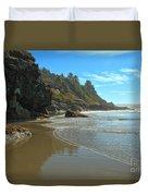 Trinidad Luffenholtz Beach Duvet Cover