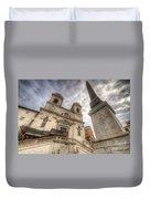 Trinita Dei Monti Church Duvet Cover