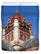 Trinity Church Boston Duvet Cover