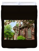 Trinity Church Garden  7d02024 Duvet Cover