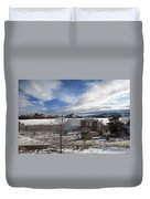 Trip To Baldwin City Kansas Duvet Cover