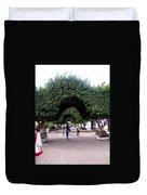 Triple Arches Duvet Cover