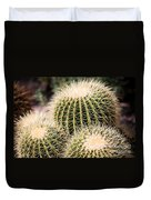 Triple Cactus Duvet Cover